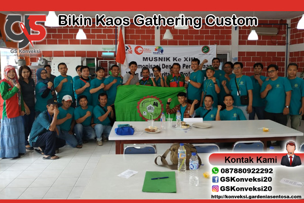 Bikin Kaos Gathering Custom